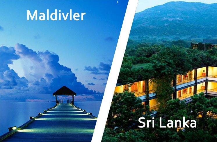 İki Ada Tek Tatil için Maldivler & Sri Lanka Turu