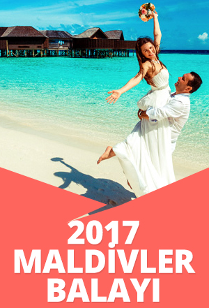 2017 Maldivler Balayı