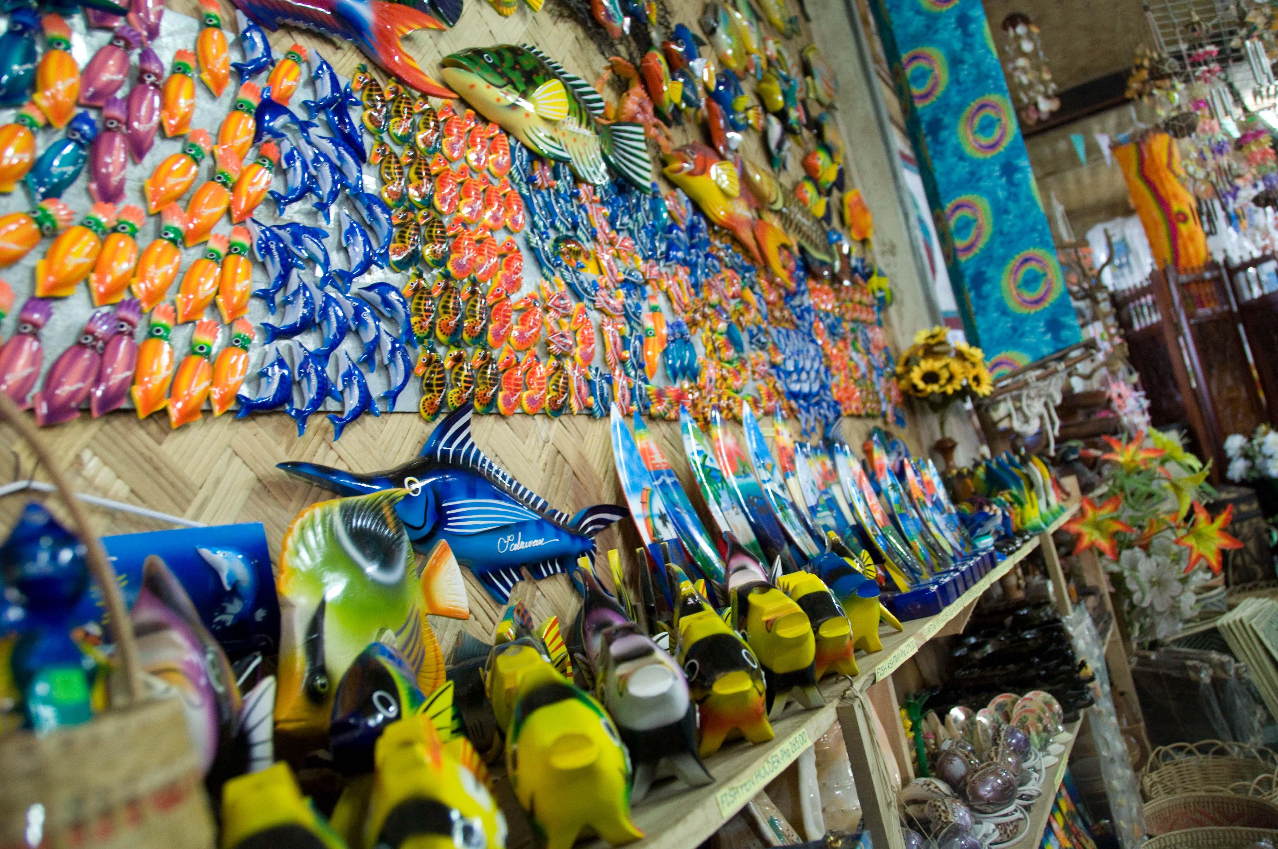 Maldivler'de alışveriş